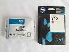 HP 940 Magenta C4904AN Inkjet ink NEW 2016 officejet pro 8000,8500, 8500a + 1