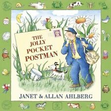The Jolly Pocket Postman by Allan Ahlberg,Janet Ahlberg (Hardback, New & Sealed)