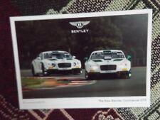 Bentley CONTINENTAL GT3 foto info CARD