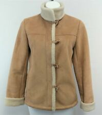 Talbots Petite Women Coat, Size Small, Brown, polyester, acrylic