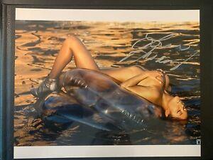 Arianny Celeste Ring Card Girl  UFC  Signed 8x10 Photo MMA Playboy