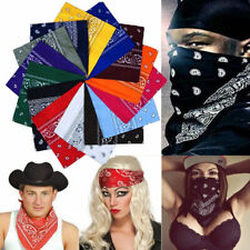 Paisley Cotton Bandana Bandanna Headwear/Hair Band Scarf Neck Wrist Wrap Band