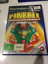 Pinball hall of fame, ps2, missing booklet, tested, PlayStation 2, good cond