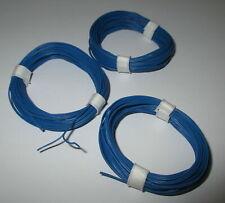[0,33 €/ M] Doppellitze Blue/Blue - Thin 2 x 10 x 0,1 9 10/12x16 5/12ft New