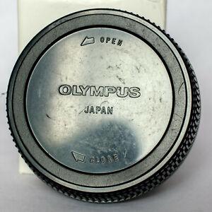 Genuine Olympus OM fit rear lens cap.