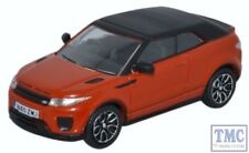 76RREC001 Oxford Diecast OO Gauge Range Rover Evoque Convertible Phoenix Orange