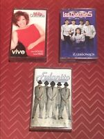 Lot of 3 Latin Music Audio Cassettes, good condition, Rare, Free Shipping!
