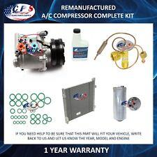 A/C Compressor & Condenser Component Kit Fits Honda Civic 1996-2000 1.6L 77560