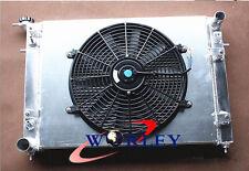 3 Row Aluminum Radiator + Shroud Fan for Holden Commodore VN VG VP VR VS V6 3.8L