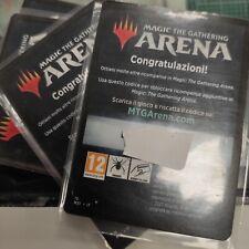 5x MTG Magic Arena Code Booster Coreset 2021 M21 MTGA promopack