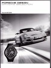 Porsche Design Driver's Selection Merchandise Prices 2007-08 UK Market Brochure