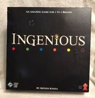 Ingenious~Reiner Knizia~Strategy Tile Board Game~Excellent UNUSED Condition