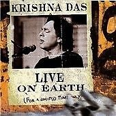 Krishna Das - Live on Earth...For a Limited Time Only CD. Indian Import. New.