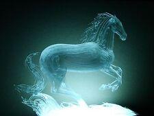 Ukrainian Russian sculpture horse contemporary optical art figurine statue