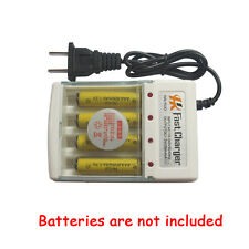 AA and AAA Rechargeable 4 Ports Battery Charger