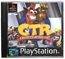 Crash TEAM RACING SONY PLAYSTATION 1 PAL ottime condizione GIOCO CRT PS1 PS2 PS3