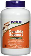 NOW FOODS, CANDIDA SUPPORT, 180 Veg. Kaps. EXTRAPREIS !!!