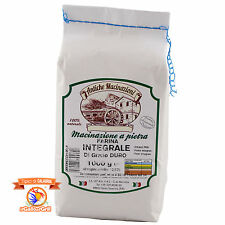 Farina integrale di grano duro - Calabria - Macinata a pietra - 1kg