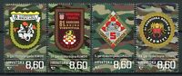 Croatia Military Stamps 2020 MNH Guard Brigades Battallions Independence 4v Set
