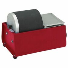 Rotary Barrel Rock Polisher Tumbler Single Drum Smooth Polished Finish 3lb Max