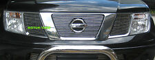 Nissan Navara D40 2005 to 2011 Upper Top Billet Grille Grill (With Badge Hole)