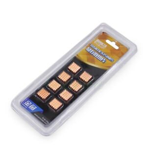 5-Pack Adhesive Back Copper Heatsink VGA GPU DDR DDR2 DDR3 RAM Memory Cooling