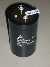 EPCOS Kondensator B43566A0158Q Capacitor Alu 1500uf 400v Schraub Elko Ll Μf