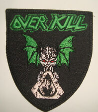 OVERKILL - LOGO Embroidered PATCH SHIELD