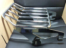 Detachable Two Up 2 up Luggage Rack for Harley Touring Road King FLHR 09-14...