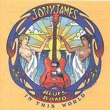 In This World by The Jony James Blues Band (CD, Jun-2003, Blue Wave)