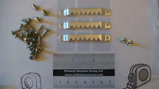 "50 Large 2-5/8"" Sawtooth Picture Hangers 100 1/2"" #6 Screws + Free Sample Pack"