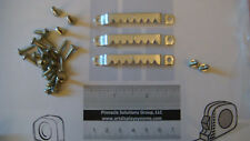 50 LARGE SAWTOOTH PICTURE HANGERS 100 # 6 SCREWS + FREE HARDWARE SAMPLE PACK