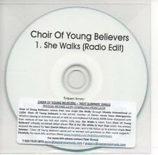 (AE812) Choir of Young Believers, She Walks - DJ CD
