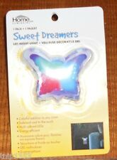 NEW Colorfull Rainbow  Butterfly Night Light ++ Mint in Box ++