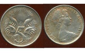 AUSTRALIE 5 cent 1981      ( bis )      ANM