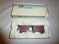 Vintage 1987 Walthers Western Pacific 40' Wood Box Car Model Train Car HO