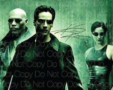 The Matrix signed Keanu Reeves 8X10 photo picture poster autograph RP
