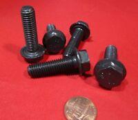 x 12 SERRATED Screw Zinc Plated High Tensile 8.8 10pc 8mm Flange Bolt M8