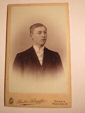 Heide I. H. - 1902-hanibal Schlömer? cuando era joven-Portrait/CDV