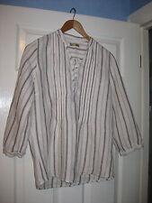 Ladies Size 12 TU Linen Shirt  VGC