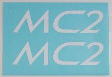 Klein Attitude MC2 ~ Klein Adroit MC2 ~ MC2 Decals ~ MC2 White Decal Set