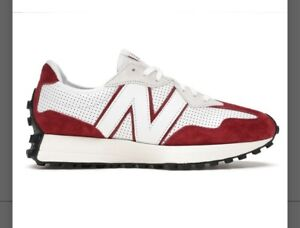 MENS NEW BALANCE 327 MS327PE RED WHITE PRIMARY PACK RED NEW IN BOX
