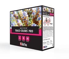 Mer Rouge Trace Couleurs Pro Kit Test Corail Couleurs iode fer Potassium Marine