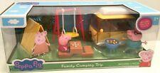 BRAND NEW Pig PEPPA PIG FAMILY CAMPING TRIP Playset