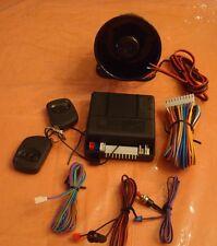 car alarm keyless entry system