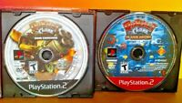 Ratchet & Clank Commando + Up Your Arsenal -  PS2 Playstation 2 Tested Game Lot