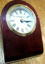 Howard Miller 645-191 Bristol Wedge Quartz Table Clock Preowned