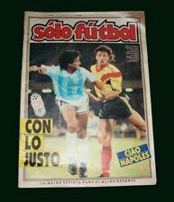 FIFA WORLD CUP 1990 DIEGO MARADONA  - Argentina Vs RUMANIA  - Magazine