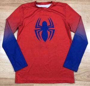 Pelearse Departamento Puro  Las mejores ofertas en Under Armour Spider-Man Niños Red Tops, camisas y  camisetas para Niños | eBay