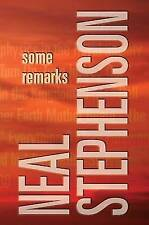 Some Remarks by Neal Stephenson (Hardback, 2012)
